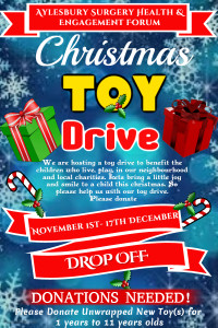 Christmas Toy Drive F